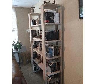 boekenkast dubbel