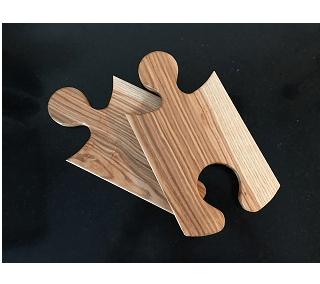 serveerplank puzzel (set van 2)