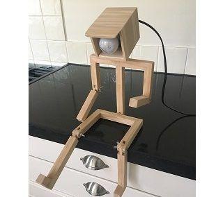 Lamp poppetje